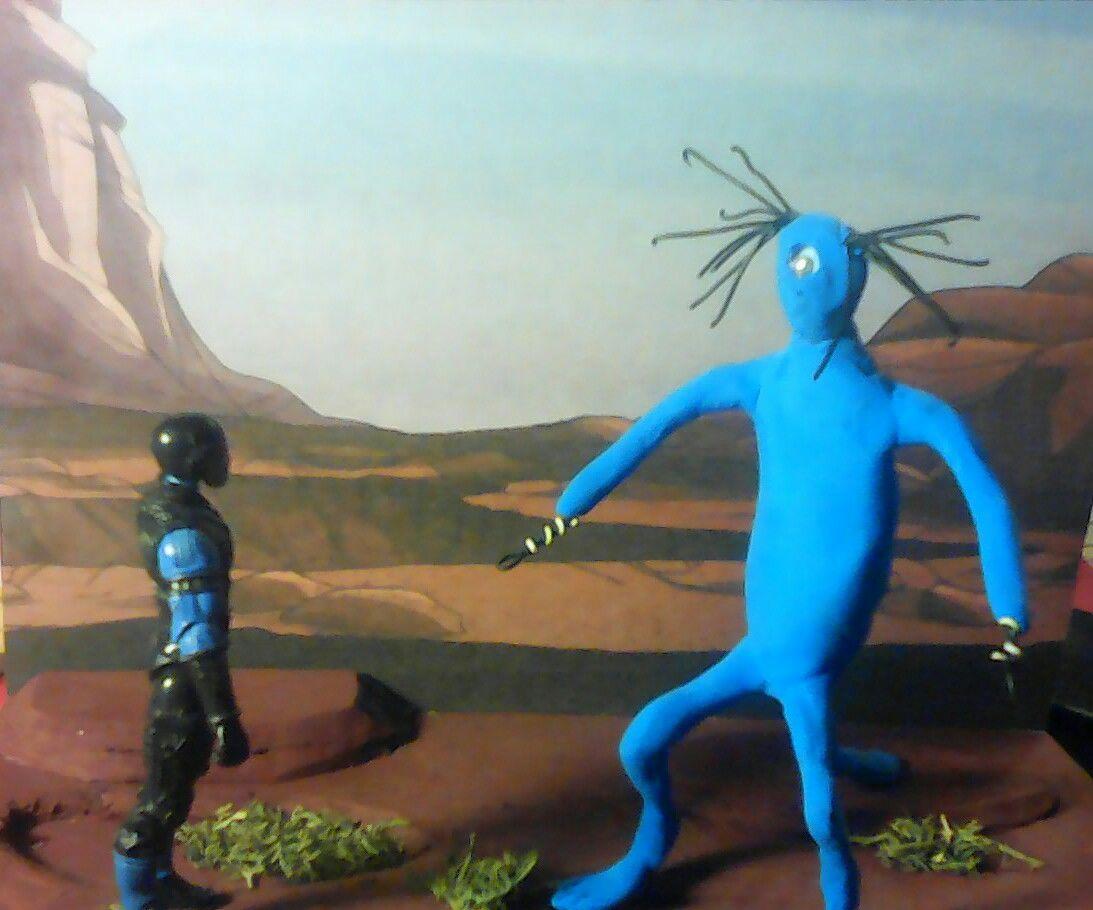 "Barsoomian Plant Man From ERB's ""Mars"" Novels."
