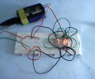 How to Use 7 Segment LED Display