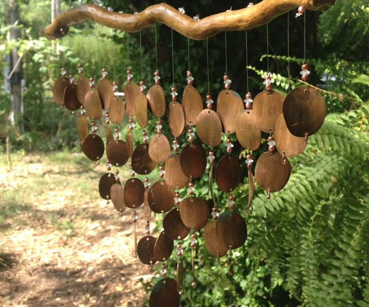 How to make Pressed Penny Wind Chimes