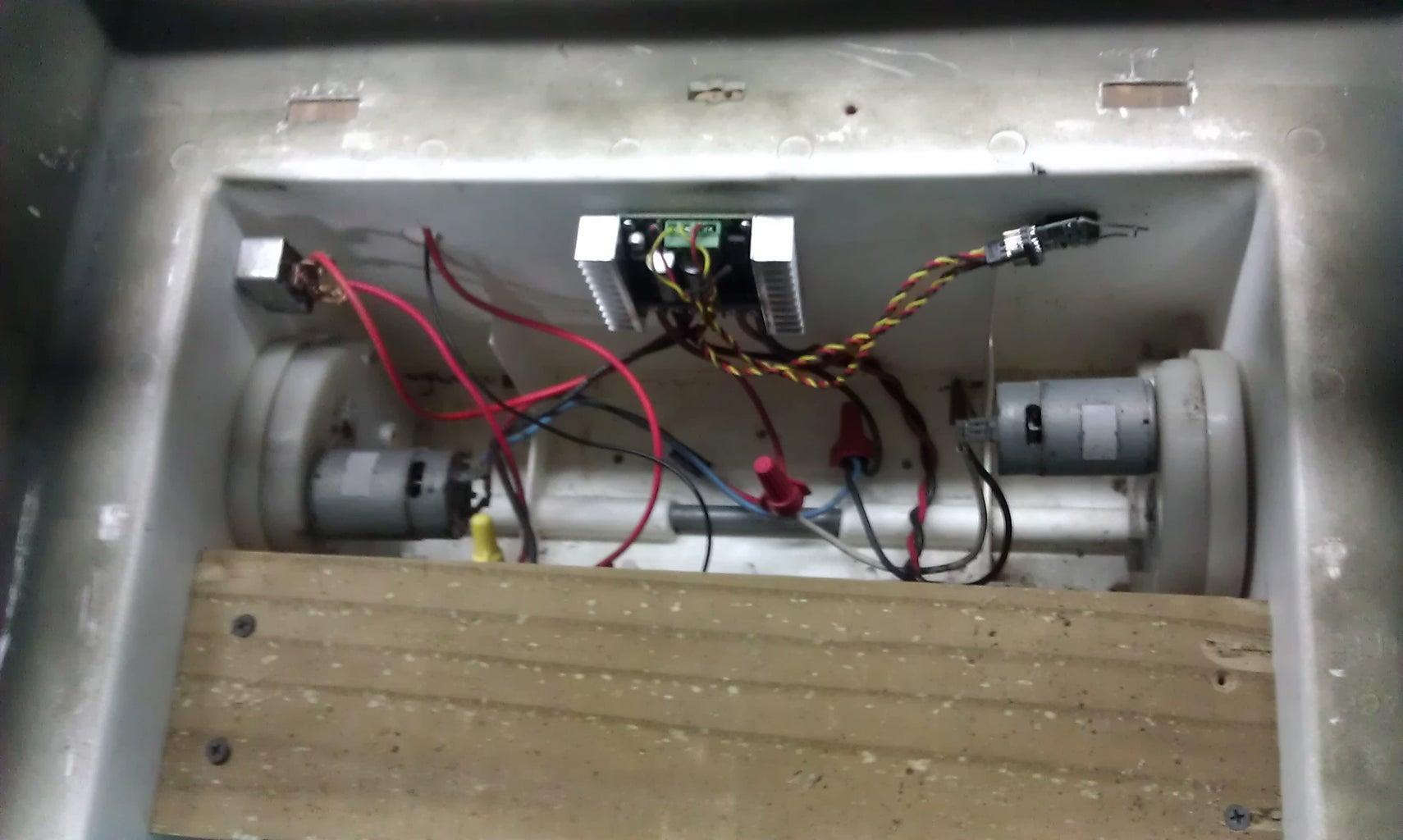 Wiring the Powerwheels Motors