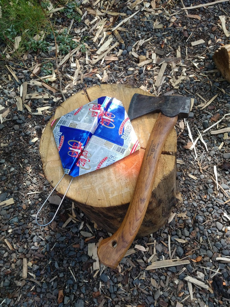 Beer Can Fire Fan