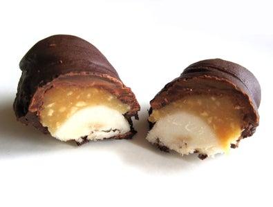 Healthy Frozen Snickers Bars
