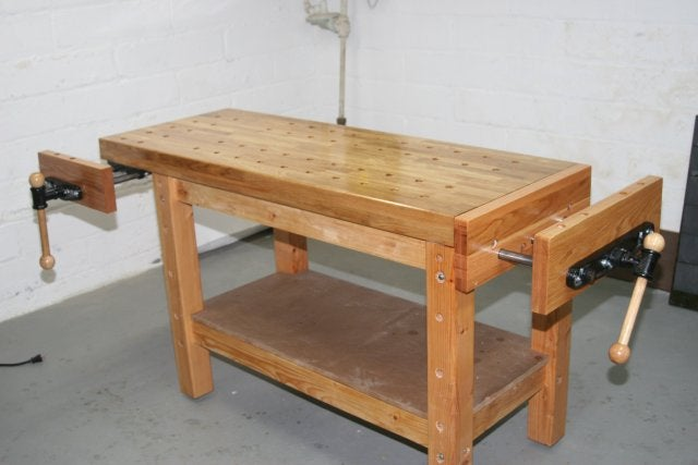 Building A Real Woodworker S Workbench 32 Steps With Pictures Instructables