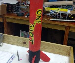 DIY海报管火箭
