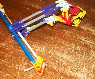 How to Make a Mini Micro Knex Crossbow