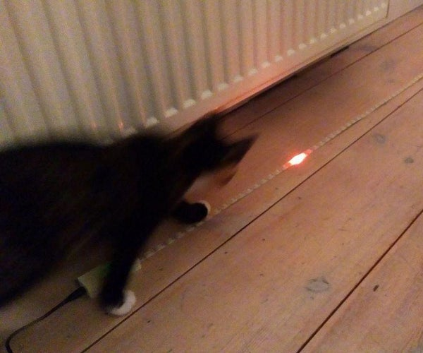Arduino Nano LED Strip Cat Toy
