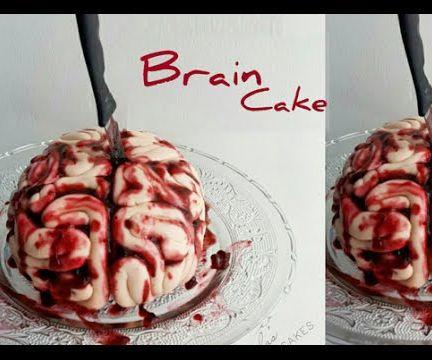 Bloody Brain Cake
