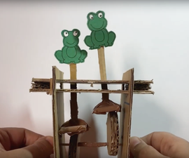 2 Disc Cardboard Automata - Fun Animations You Can Make at Home