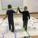 Collaborative Makey Makey Sensory Maze