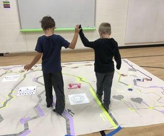 Collaborative Makey Makey Sensory Maze