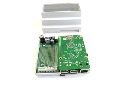 Place the Raspberry Pi