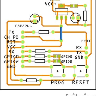 Breakout Board for ESP 8266 01 With CP2102