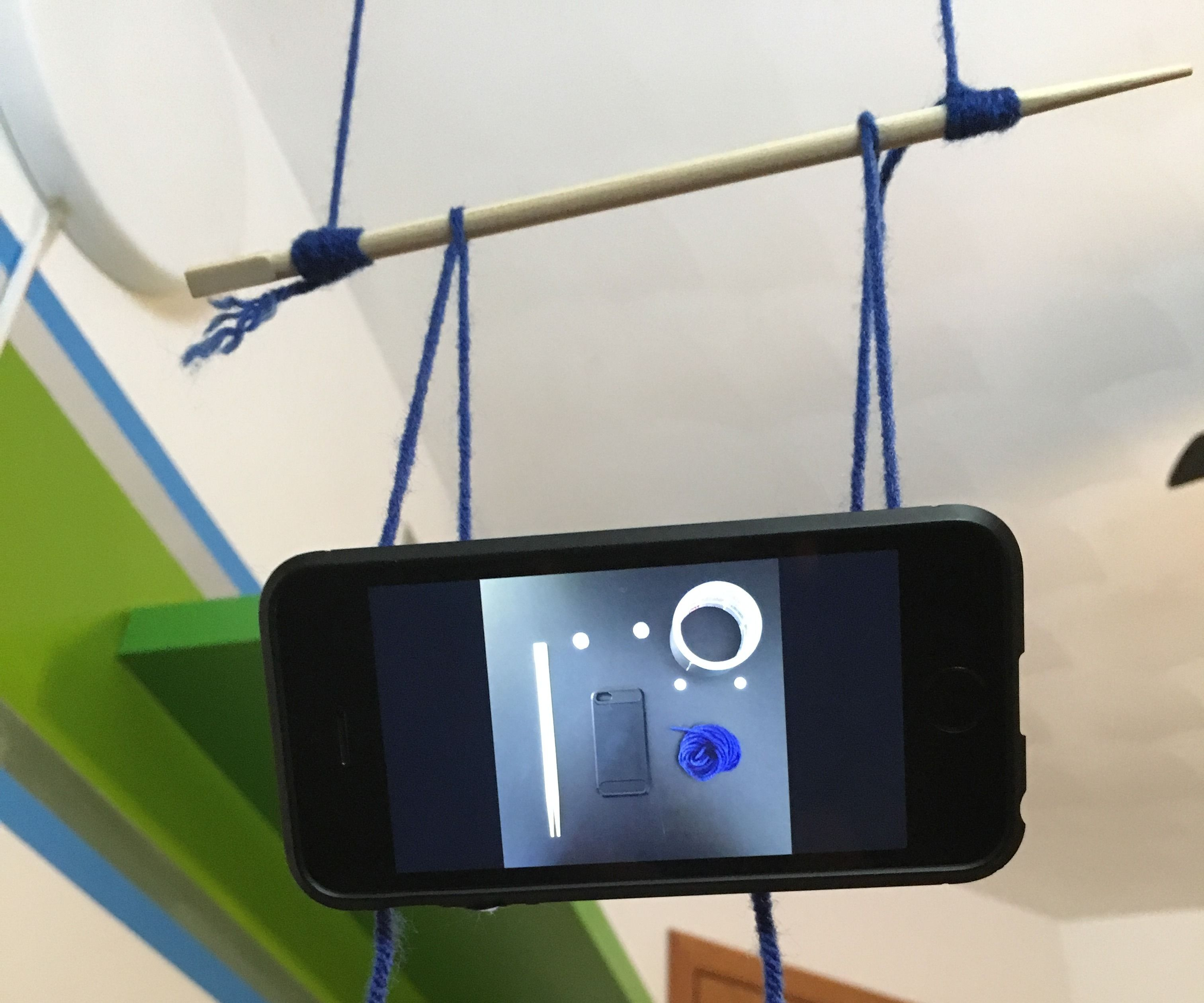 Overhead Phone Holder