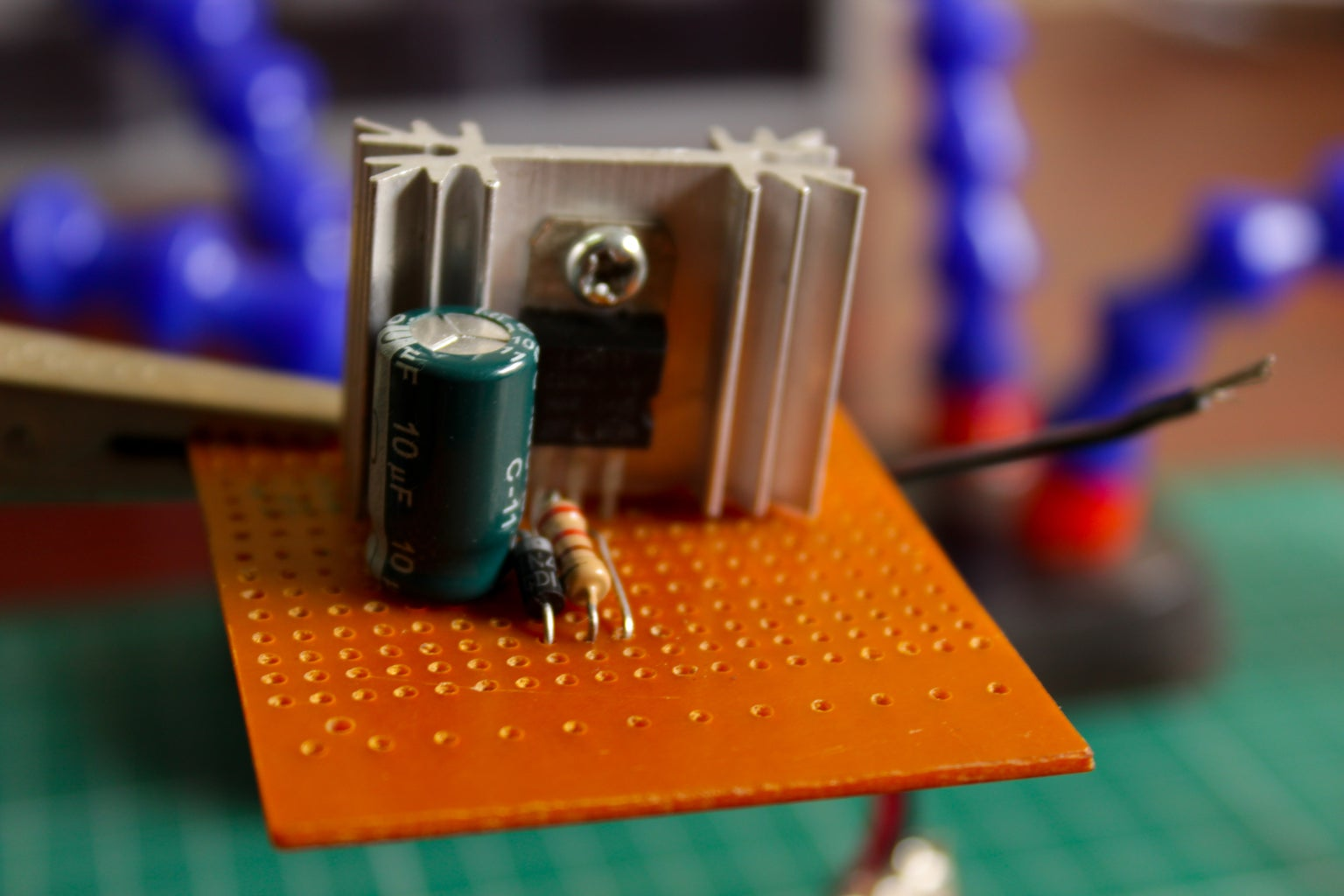 Add the Capacitor