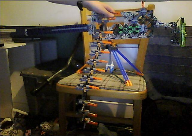 Knex Browning M1919 Chain-fed MG