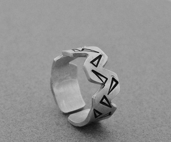 Zig Zag Aluminum Ring DIY TUTORIAL