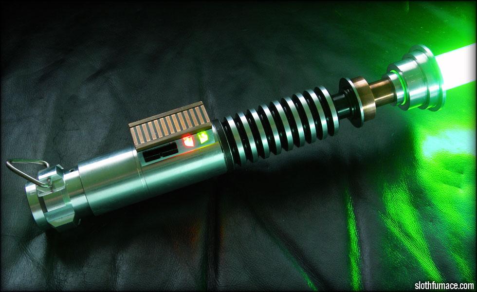Slothfurnace.com presents: The ROTJ Luke Skywalker Lightsaber