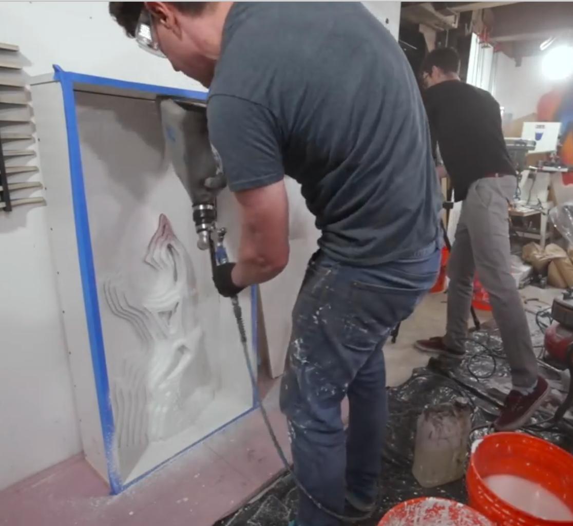 Concrete Spray & Pour