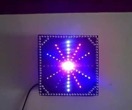 Pictures of Led Based Decorative Luminaries and Boards