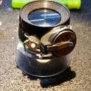Frankenstein led magnifying glass