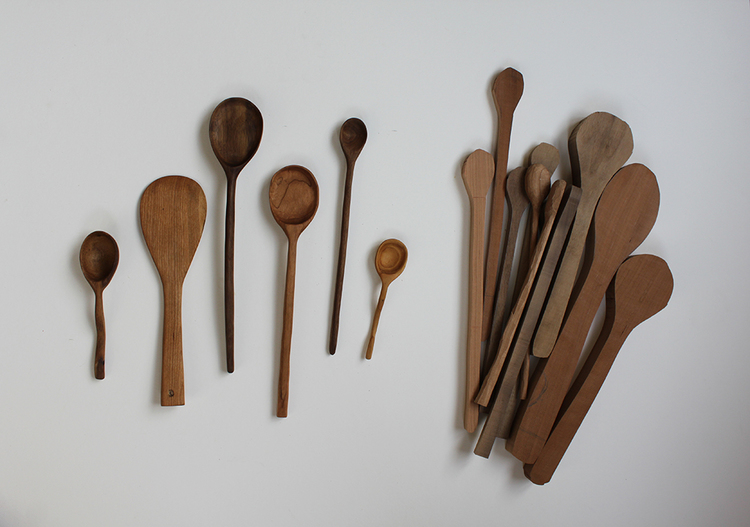Handcrafted Wooden Spoon Hand Carved Butternut Spoon Handmade Mixing Spoon
