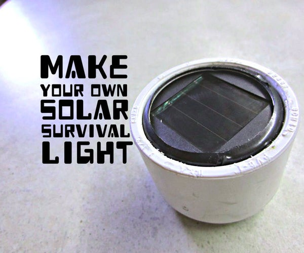 Indestructible Solar Light