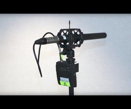 Sennheiser EW100 Wireless to RODE Boom Pole Adaptor