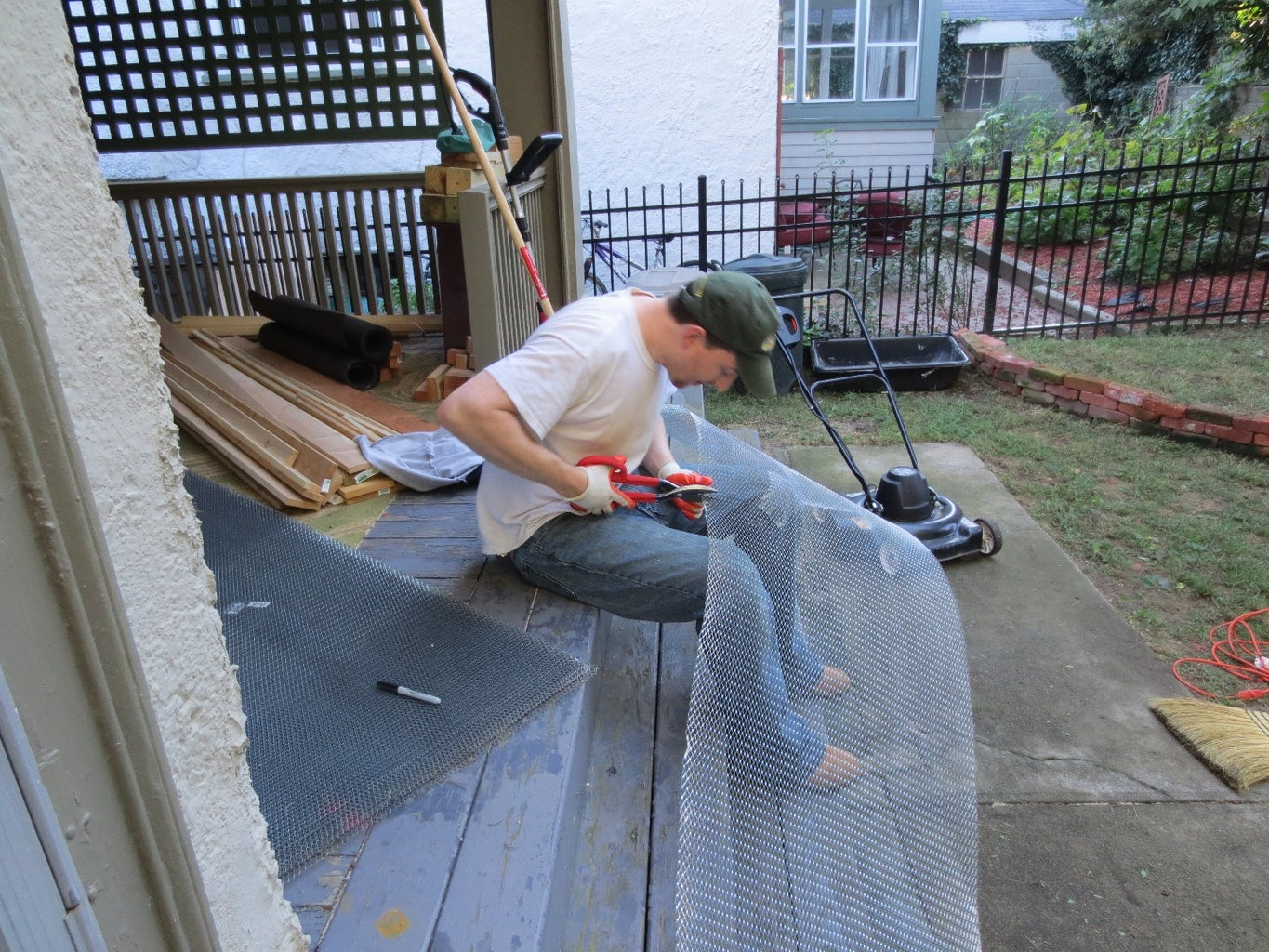 Prep the Walls for Stucco