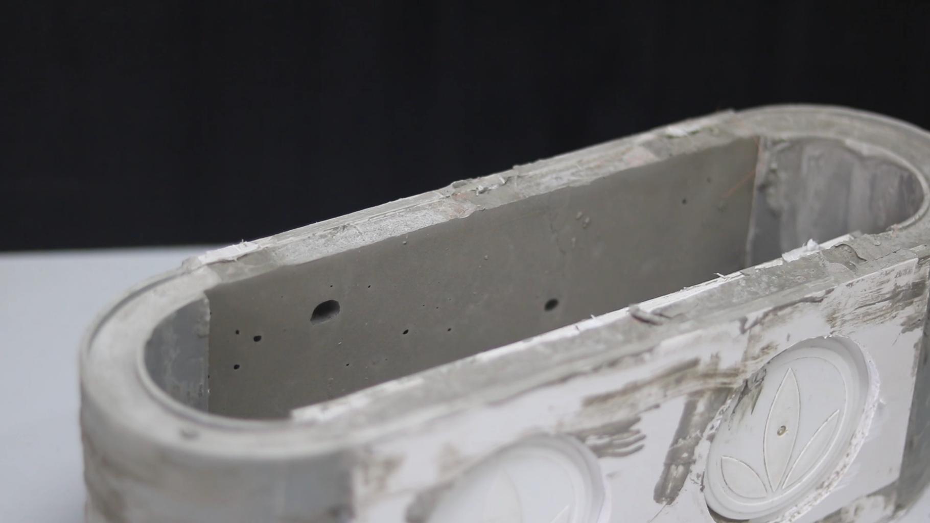 Make Concrete Outer Box