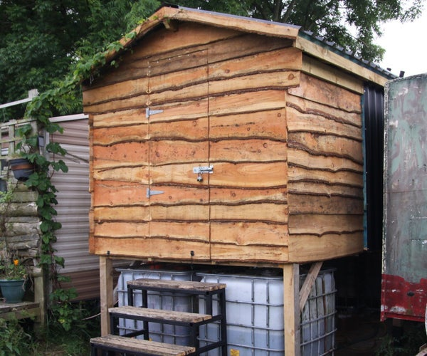The 'Easy Empty' Composting Toilet Project: Part 2 - Superstructure