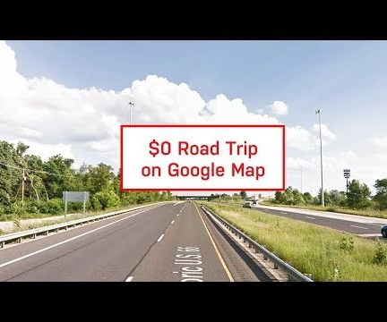 A Free Road Trip on Google Map