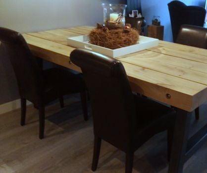 Oak Beam Dinner Table