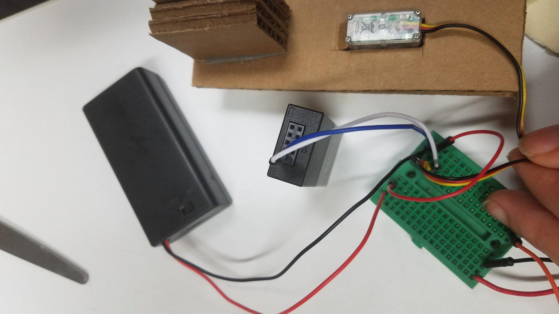 Configure Servo Wiring and MESH Recipe