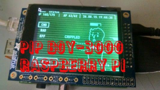 Pip-Boy 3000 With Raspberry