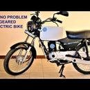 Scrap Gas Bike to Mean Green Geared Electric Commuter Bike