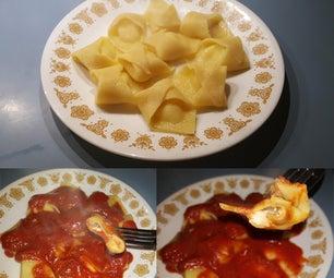 Three Cheese Tortellini From Scratch
