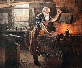 木炭烤炉:便宜的铁匠