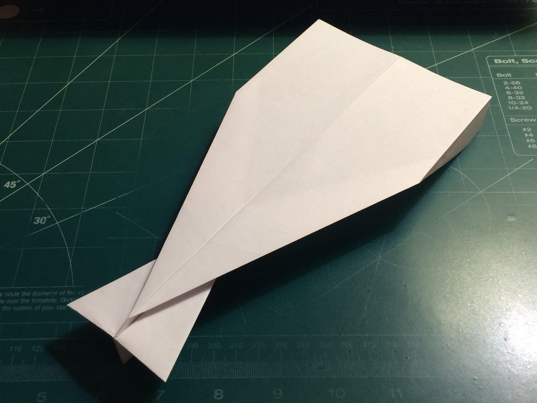 How to Make the AeroDart Paper Airplane