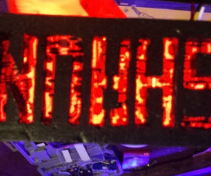 Led Personal Sign