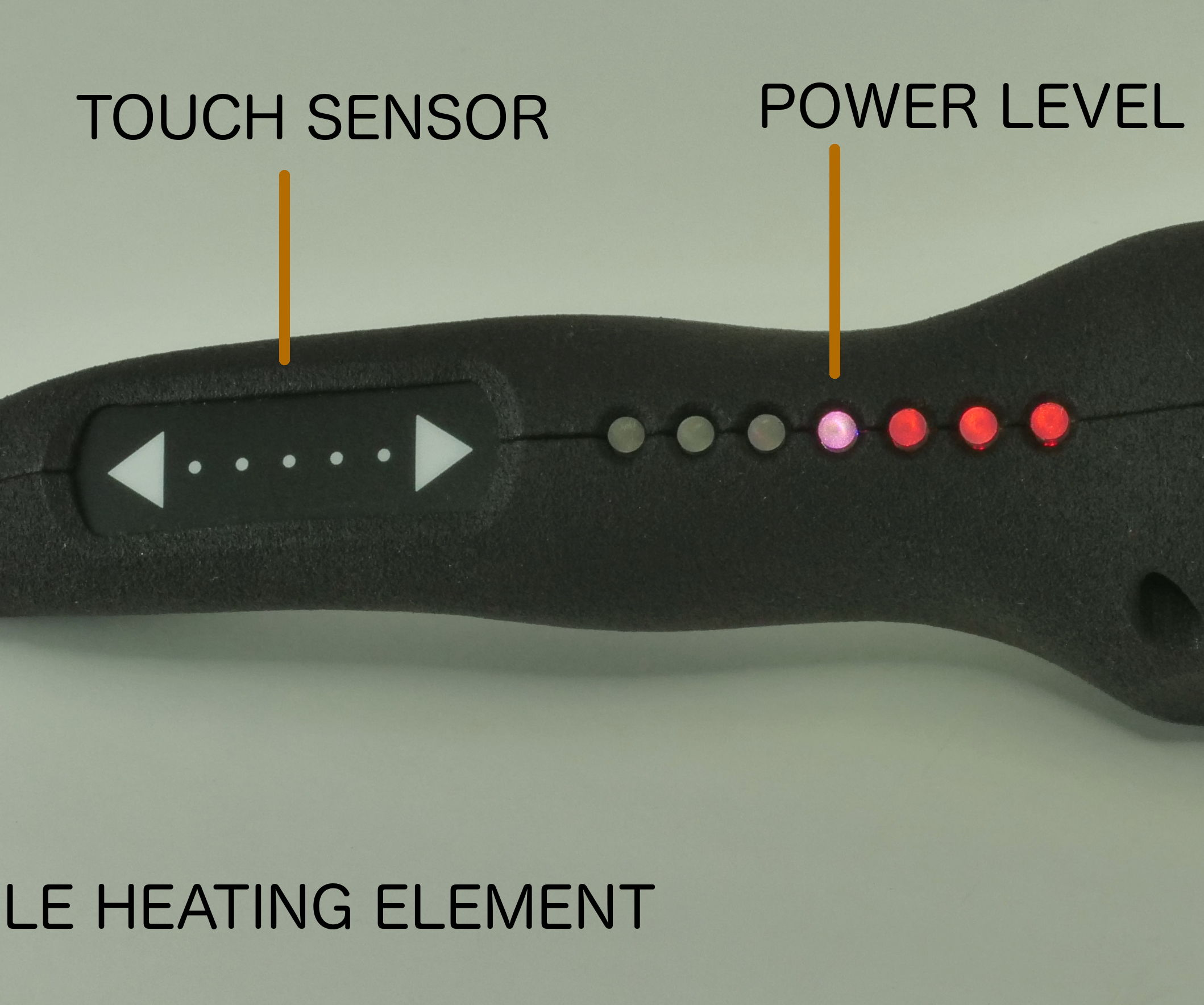 Solderdoodle Plus: Soldering Iron With Touch Control, LED Feedback, 3D Printed Case, and USB Rechargeable