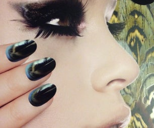 Feathered Manicure