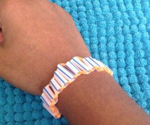 DIY Straw Bracelets!
