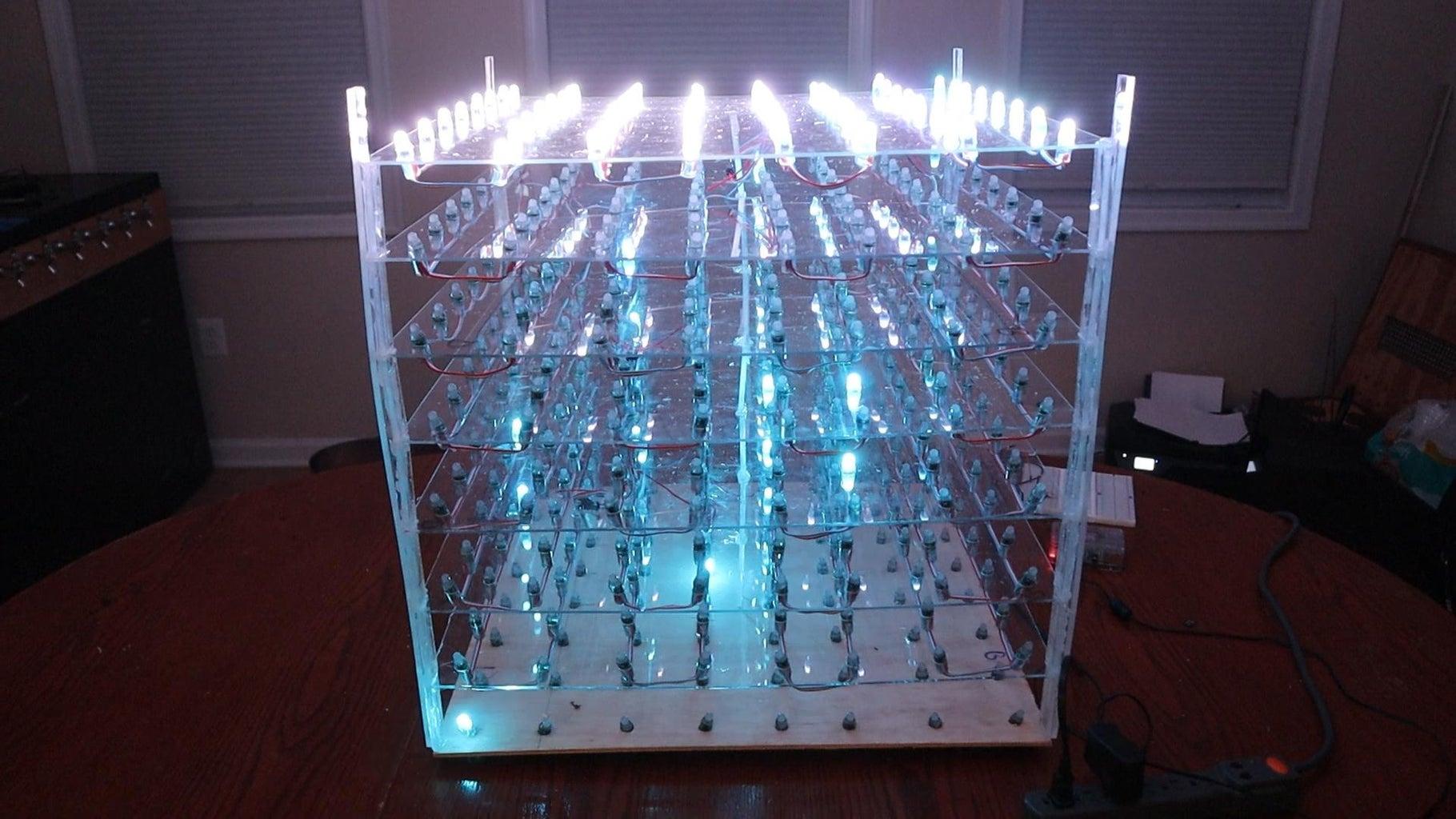 DIY 3D LED Cube With a Raspberry Pi