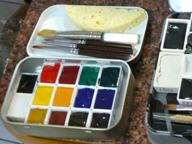 Movable Pallet Altoid Tin Watercolor Set