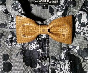会标皮革夹式领结