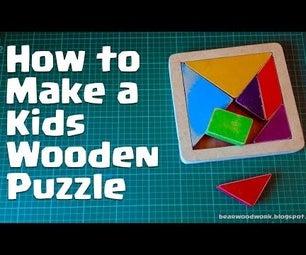 Kids Wooden Puzzle