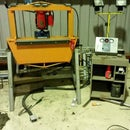 20 Ton Air Operated Pan Brake/press Combo