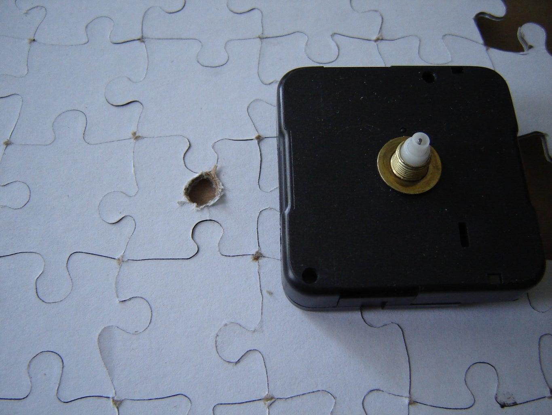 Make Hole for Clock