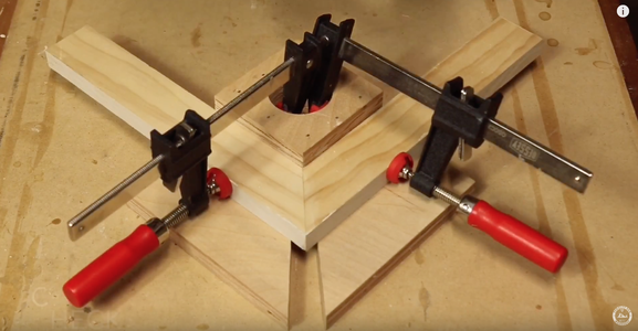 Simple DIY Jig for Clamping Miters