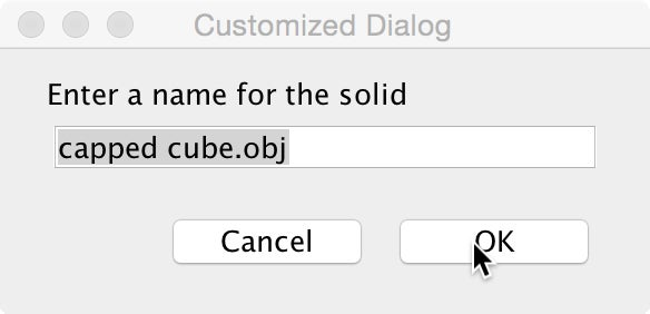 Saving Solid Objects